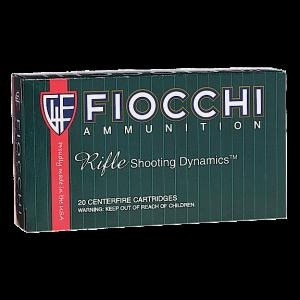 Fiocchi Ammunition .22-250 Remington Pointed Soft Point, 55 Grain (20 Rounds) - 22250B