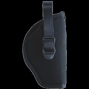 """Blackhawk Sportster Right-Hand Belt Holster for Medium/Large Double Action Revolver in Black (3"""" - 4"""") - B990216BK"""