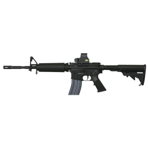 "Armalite M-15 A4 Tact .223 Remington/5.56 NATO 30-Round 16"" Semi-Automatic Rifle in Black - LEC15A4CBK14"