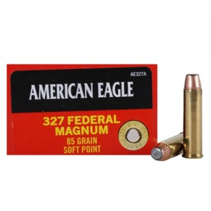 Federal Cartridge American Eagle .327 Federal Magnum Jacketed Soft Point, 85 Grain (50 Rounds) - AE327A