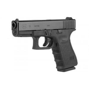 """Glock 19 9mm 10+1 4.02"""" Pistol in Fired Case/Matte (Gen 3) - UI1950201"""