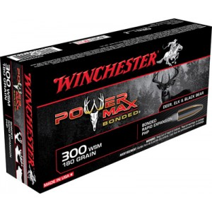 Winchester Super-X .300 Winchester Short Magnum Power Max Bonded, 180 Grain (20 Rounds) - X300WSMBP