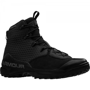 UA Infil Hike GTX Size: 8.5 Color: Black/Whire/Charcoal