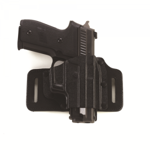 Galco International Tac Slide Right-Hand Belt Holster for Glock 21 in Black - TS228B