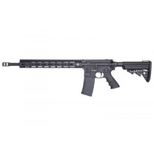 "Smith & Wesson M&p 15, Performance Center Rifle, 223 Rem, 556nato, 18"" Barrel, 1 In 8"" Twist, 5r Rifling, Pc Muzzle Brake, Black Finish, Hogue Grip, 30rd Magazine, Two Stage Match Trigger, Vltor Adjustable Stock, 15"" Troy Free Float M-lok Handguar With 1-"