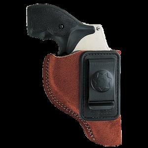 """Bianchi 10376 6 Waistband 2-3"""" Barrel Colt; Ruger; S&W Similar K/L Frame Leather Tan - 10376"""