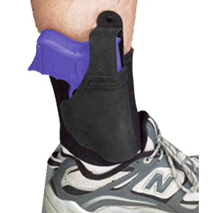 """Galco International Ankle Lite Right-Hand Ankle Holster for Walther PPS in Black (5"""") - AL492"""