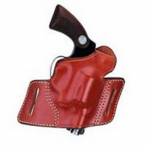"""Aker Leather 133 White Lightning Right-Hand Belt Holster for Smith & Wesson 25 in Tan (4"""") - H133TPRU-LARGE"""