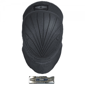 Vortex Gel-Core Hybrid Knee Pads Color: Black