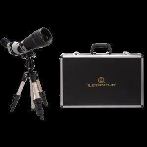 "Leupold & Stevens  14"" 25-60x80mm Spotting Scope in Black/Gray - 64310"