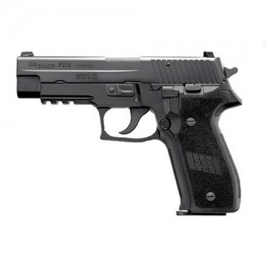 "Sig Sauer P226 Full Size CA Compliant 9mm 10+1 4.4"" Pistol in Black Nitron (SIGLITE Night Sights) - 226R9BSSCA"