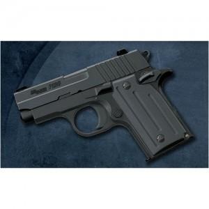"Sig Sauer P238 Micro-Compact .380 ACP 6+1 2.7"" Pistol in Black Nitron (SIGLITE Night Sights) - 238380B"