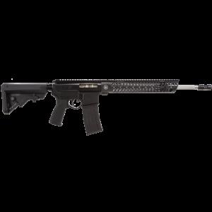 """2 Vets 2VA556 Mid Length .223 Remington/5.56 NATO 30-Round 16"""" Semi-Automatic Rifle in Black - 2VA556MACOM"""