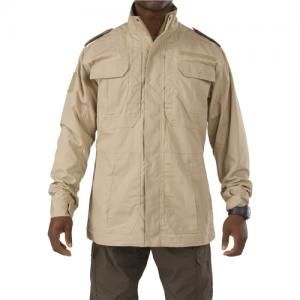 5.11 Tactical Taclite M-65 Men's Full Zip Jacket in TDU Khaki - X-Large