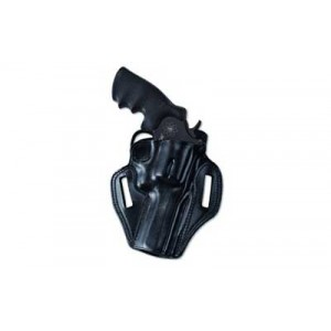 """Galco International Combat Master Right-Hand Belt Holster for 1911 in Black Leather (3"""") - CM424B"""