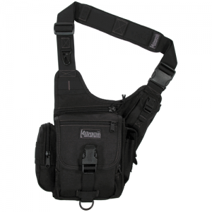 Maxpedition Fatboy Waterproof Sling Backpack in Black 1050D Nylon - 0403B
