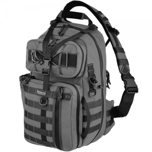 Maxpedition Kodiak Gearslinger Waterproof Sling Backpack in Wolf Gray 1000D Nylon - 0432W