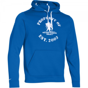 Under Armour Property Of Men's Pullover Hoodie in Ultra Blue - Large