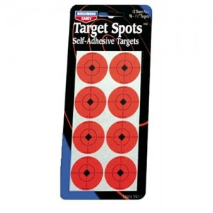 "Birchwood Casey Self Adhesive Target Spots 36-2"" & 72-1"" 33902"