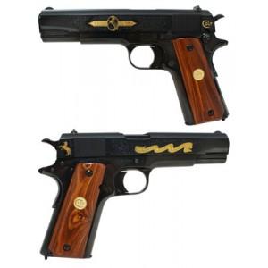"Colt 1911 Anniversary Edition II.45 ACP 7+1 5"" 1911 in Blued - O1911ANVII"