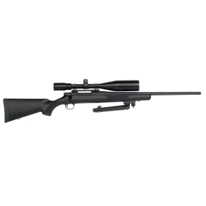 """Mossberg ATR Night Train .308 Winchester/7.62 NATO 4-Round 22"""" Bolt Action Rifle in Matte Blued - 27200"""