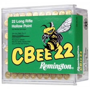 Remington Cbee .22 Long Rifle Hollow Point, 33 Grain (100 Rounds) - CB22L100