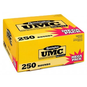 Remington UMC .40 S&W Metal Case, 165 Grain (250 Rounds) - L40SW4A