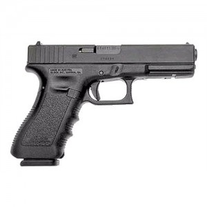 "Glock 17 9mm 10+1 4.49"" Pistol in Matte Black (Gen 3) - PI1750201"
