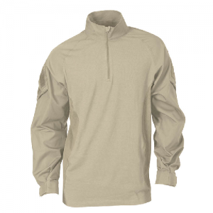5.11 Tactical Rapid Assault Men's Long Sleeve Shirt in TDU Khaki - Medium