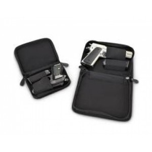 "Personal Security Products Inc Small Pistol Holster-Mate Case 5"" x 6.5"" Nylon Black Finish NPCSBLK"