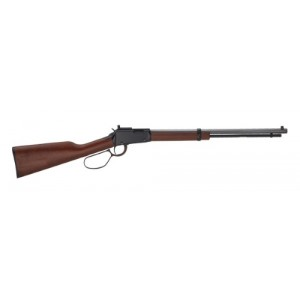 "Henry Repeating Arms Small Game .22 Winchester Magnum 11-Round 18.25"" Lever Action Rifle in Blued - H001TMLP"