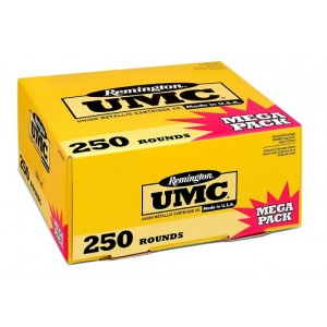 Remington UMC .40 S&W Metal Case, 180 Grain (250 Rounds) - L40SW3A