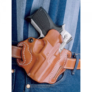 """Desantis Gunhide Speed Scabbard Right-Hand Belt Holster for Colt King Cobra in Tan (4"""") - 002TA34Z0"""