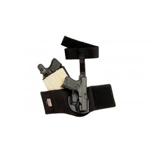 Galco International Ankle Glove Right-Hand Ankle Holster for Glock 43 in Black - AG800B
