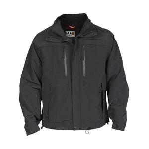 5.11 Tactical Valiant Duty Men's Full Zip Coat in Black - Medium