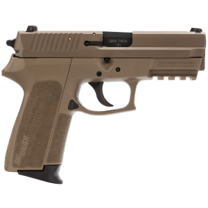 "Sig Sauer SP2022 Full Size 9mm 15+1 3.9"" Pistol in Flat Dark Earth (FDE) (4 Point Safety) - E20229FDE"