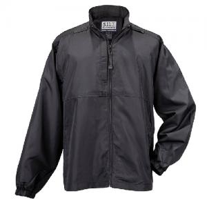 5.11 Tactical Packable Men's Full Zip Coat in Black - Small