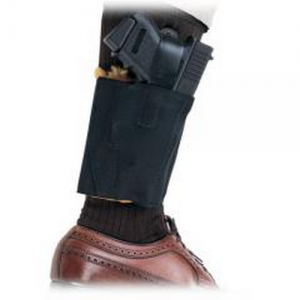 Aker Leather 157 Comfort Flex 2 Right-Hand Ankle Holster for Springfield XD-S in Black - H157BPRU-XDS