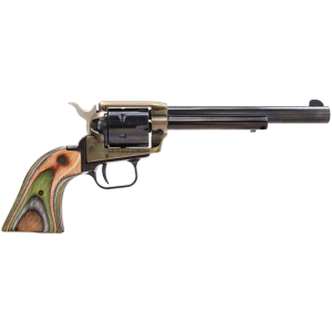 """Heritage Rough Rider Small Bore .22 Long Rifle 6-Shot 6.5"""" Revolver in Color Case Hardened - RR22CH6"""