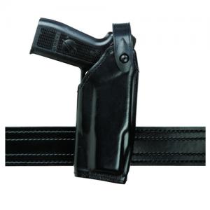 Safariland 6520 SLS EDW Level II Retention Belt Holster for Taser X26P in STX Black Basketweave (Right)