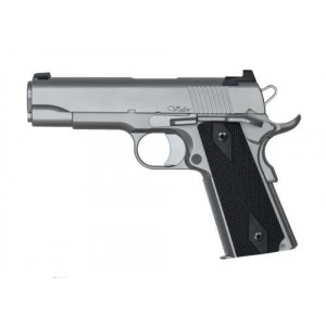 "Dan Wesson Valor 9mm 9+1 4.25"" 1911 in Matte Stainless (Commander) - 01873"
