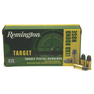 Remington TAR .38 Short Colt Lead Round Nose, 125 Grain (50 Rounds) - RTG38SC