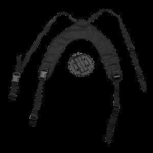 Blackhawk Versa-Harness Harness in Black Nylon - 44CH00BK