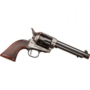 "Taylors & Co The Smoke Wagon .357 Remington Magnum 6-Shot 5.5"" Revolver in Case Hardened Blue (Deluxe) - 4108DE"