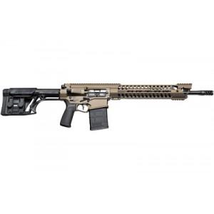 "Patriot Ordnance Factory Gen 4 War Hog Heavy, Semi-automatic Rifle, 308 Win, 16.5"" Barrel, Cerakote Burnt Bronze Finish, Luth Ar Stock, 20rd, 14.5"" Modular Rail 01241"