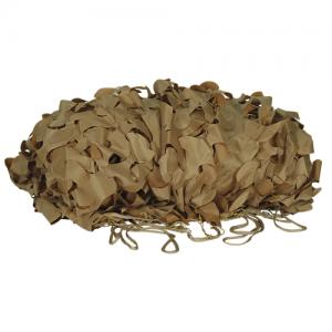 Mil-Spec Leaf-Cut Netting Color: Desert Camo Size: 10' x 10'