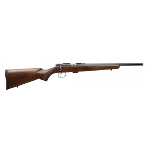 "CZ 452 .17 HMR American 5-Round 22.5"" Bolt Action Rifle in Black/Chrome - 2074"