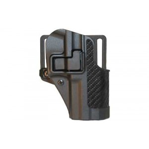 Blackhawk CQC Serpa Right-Hand Multi Holster for Glock 29, 30, 39 in Black Carbon Fiber - 410030BK-R