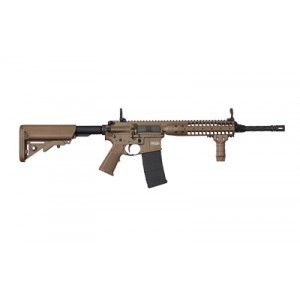 "LWRC MK6 .223 Remington/5.56 NATO 10-Round 16"" (14.7"" with Pinned Brake) Semi-Automatic Rifle in Flat Dark Earth (FDE) - ICTR5CKF14P-CA"