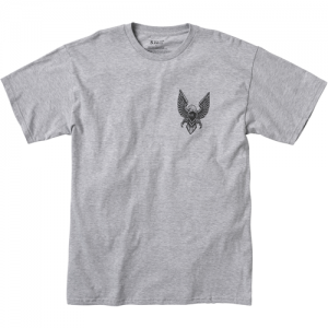 5.11 Tactical Eagle Rock Men's T-Shirt in Heather Grey - Small